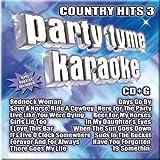 Party Tyme Karaok: Country Hits 3 by Party Tyme Karaoke Karaoke edition (2005) Audio CD