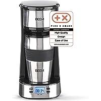 BEEM THERMO 2 GO Caffettiera con filtro per 1 tazza - Thermo   Include tazza da asporto da 0,4 l e filtro permanente…