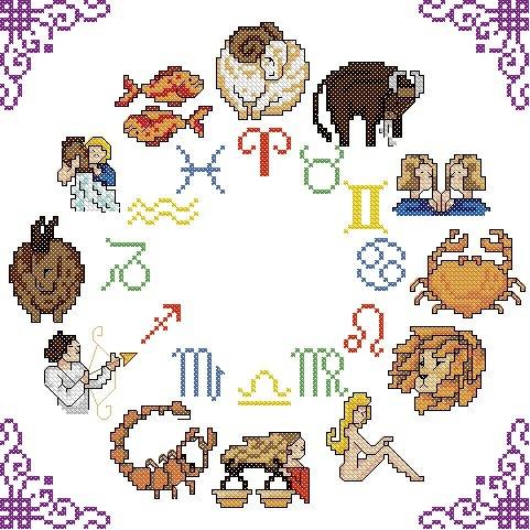 Western Zodiac Circle-Wkd/motivo [PDF su CD]