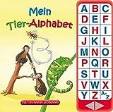 27-Button-Soundbuch - Mein Tier-Alphabet - Lesen lernen - 27 Geräusche - Hardcover-Buch