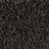 BODENMEISTER BM72231 Teppichboden Auslegware Meterware Hochflor Shaggy Langflor Velour schwarz anthrazit 400 und 500 cm breit, Verschiedene Längen, Variante, 3 x 5 m