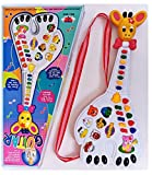 #1: Toyshine Animal Guitar Toy with Music and Lights, Assorted Color