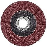 SBS–Disco de láminas (Diámetro 115mm, grano 40marrón para amoladora de ángulo cepillo de lija (10unidades)