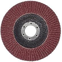 10-pc SBS Rebanadas de ventilador 125 mm / Grano 40 Marrón Muelas abrasivas Lazo de la fregona