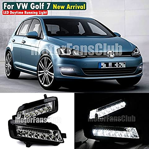 Motorfansclub circulation diurnes LED DRL pour VW Golf 7MK7201320142015
