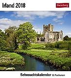 Sehnsuchtskalender Irland - Kalender 2018 - Harenberg-Verlag - Postkartenkalender mit