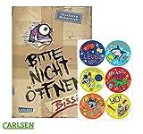 Carlsen Verlag Bissig! Bitte Nicht öffnen, Band 1 (Gebundene Ausgabe) + 1. Gratis Kinder- Stickerbogen