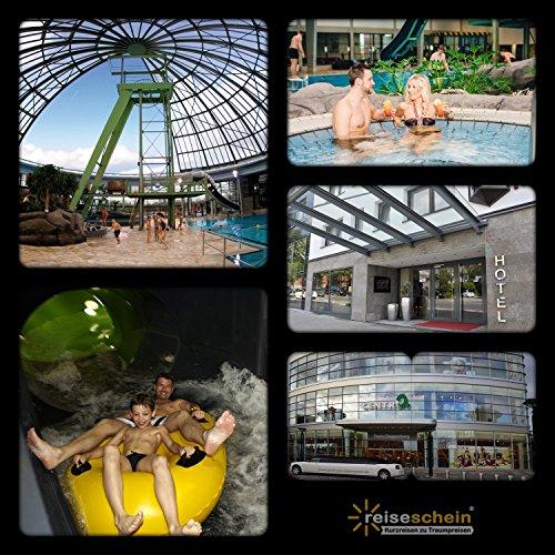Schein Bon d'achat de voyage 3jours dans le 4* S PARK Hotel Oberhausen + 2billets pour le Parc Oberhausen