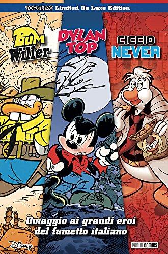 Omaggio ai grandi eroi del fumetto italiano (Topolino Limited Deluxe Edition)