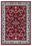 Klassischer Orientteppich Perserteppich Orientteppich - Ornamente Muster Webteppich Kurzflorteppich - in rot 120 x 170 cm