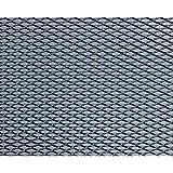 FOLIATEC 34727 Grille Alu Design Maille Moyenne Finition Noir 20X120