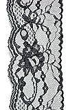 Toga MERA101 Ruban, Dentelle Thermocollante, Noir, 200 x 8 x 0,1 cm