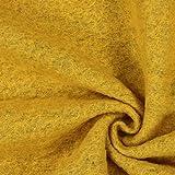 Kochwolle Klassik Gelb — Meterware ab 0,5m — Zum Nähen