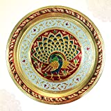#9: Peacock Decorated Puja Thali PSO