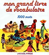 Grand livre de vocabulaire, 1000 mots