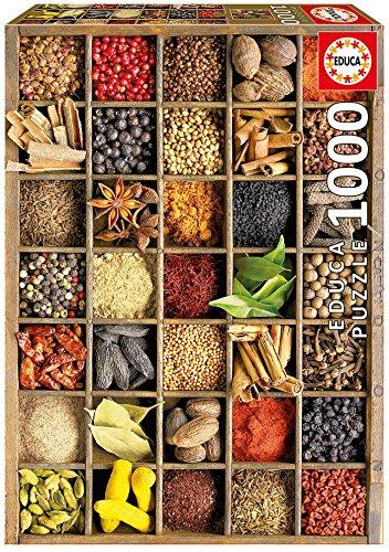 PUZZLES EDUCA - ESPECIAS  PUZZLE DE 1000 PIEZAS (15524)