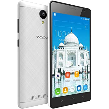 """Zopo Color M5 (Dual SIM, 4G VoLTE Phone with 5.0"""" IPS Screen, 1 GB RAM + 16 GB ROM) - Matte White"""
