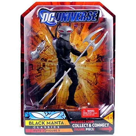 DC Universe Classics Series 2 Action Figure Black Manta by Mattel