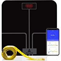 ActiveX (Australia) Ivy Plus, Digital Bathroom Scale For BMI Body Weight With Advanced Free Bluetooth App With Measuring Tape