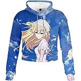 Violet Evergarden Sweat-Shirts /à Capuche Imprim/é 3D Anime Pullover /à Manches Longues Hoodie Hip Hop Pull D/écontract/é Sportswear Tops Hommes Femmes