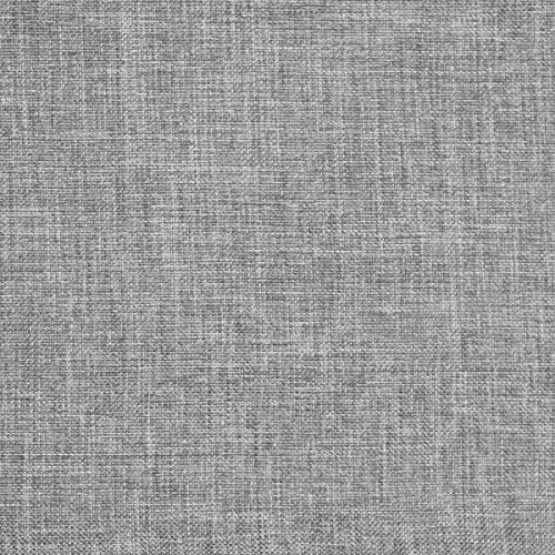 Bezugsstoff Sawanna Struktur Web Möbel Polster Stoff Meterware Melange fein gewebt Grey -