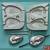 Immagine 3D carpa pesca alla carpa in-liner stampo 60–90g/pesca alla carpa
