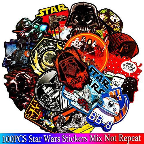 Inveroo 100pcs Star Wars Ssets Film Anime Charakter Spiel Aufkleber Für Spotify Gitarre Gepäck Laptop Cartoon Spielzeug Aufkleber