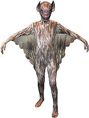 Morphsuits KLVBL - Vampir Bat Animal Planet Kinder Kostüm, 137-152 cm, Größe L