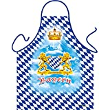 Bayern Bayrisch Alpen León Corona Corazón de Baviera–Fun Diseño Delantal–con CERTIFICADO DE REGALO.