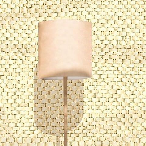 XMQC*Paja de ratán trenzado PVC patrón wallpaper sala-museo tienda de té de té Sala de ajedrez hotel balcón de papel para pared