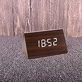 LXh.CN Mute Kreative Wecker Kinder Schlafzimmer Bett Einfache Minimalistische Wecker Dreieck Hu Nussbaum Weiße Zeichen