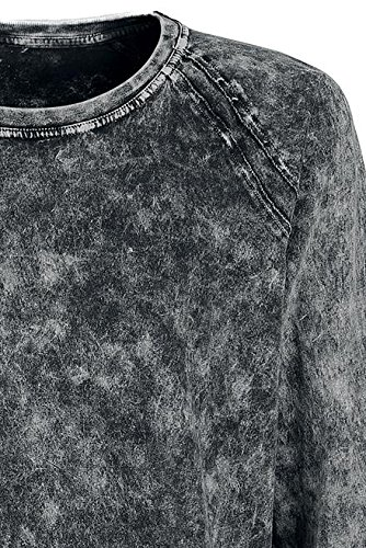Black Premium by EMP Vintage Longsleeve Manica lunga grigio Grigio