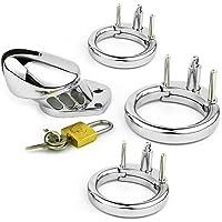 Lucchetto giocattolo in metallo con dispositivo in acciaio inossidabile (3 anelli)