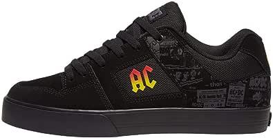 DC Pure Ac Band Edizione Limitata Sneaker Skate Scarpa, Nero (nero/grigio scuro.), 51 EU