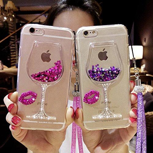 iPhone 6 Plus Cover, Bonice iPhone 6S Plus Custodia (5.5), Ultra Slim Thin Morbido TPU Clear Trasparente Animale Cat Case model 03