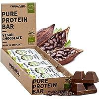 BIO Barretta proteine Cioccolato vegetali/vegane [dalla Germania] Barretta proteica senza soia, zucchero aggiunto o…