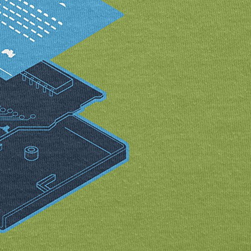 TEXLAB - Game Program Cartridge - Damen T-Shirt Kiwi