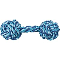 Trixie Durable Dog Chew, Rope Dumbbell, Dimension - 20 cm