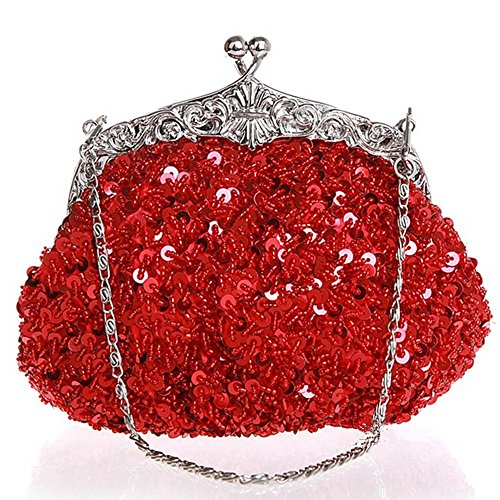 Eysee, Poschette giorno donna rosso Purple 19cm*16cm*5cm Red