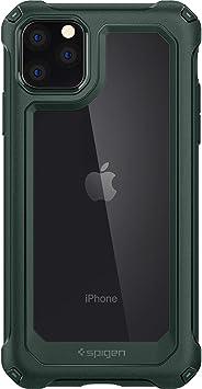 Spigen Gauntlet Serisi Kılıf iPhone 11 Pro Max ile Uyumlu/TPU AirCushion Teknoloji/Ekstra Koruma - Hunter Green