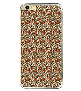 PrintVisa Designer Back Case Cover for Apple iPhone 6 Plus :: Apple iPhone 6+ (Bow Floral Texture Pattern Design )