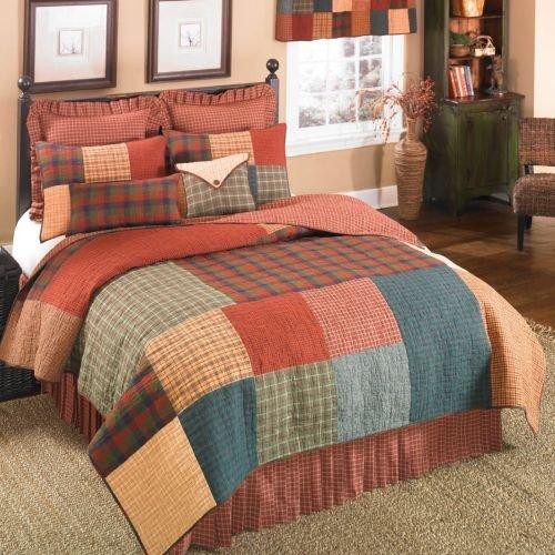 donna-sharp-campfire-cuadrado-patchwork-100-algodon-colcha