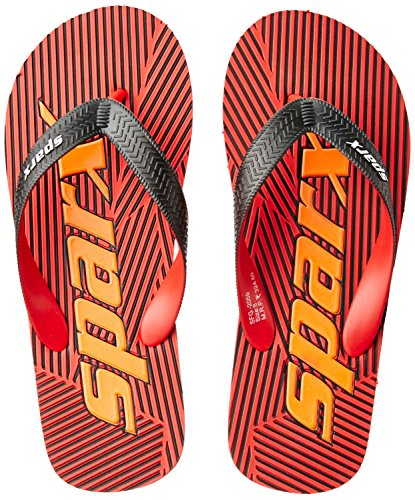 Sparx Men's Black and Red Flip Flops Thong Sandals - 8 UK/India (42 EU)(SF2059GBKRD)  available at amazon for Rs.227