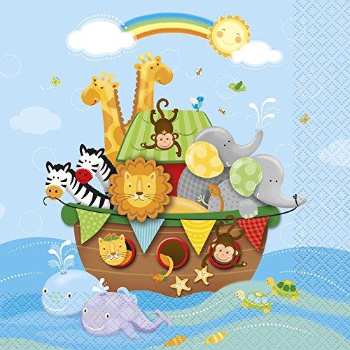 rche-Noah-Motiv (Taufe Party Supplies)