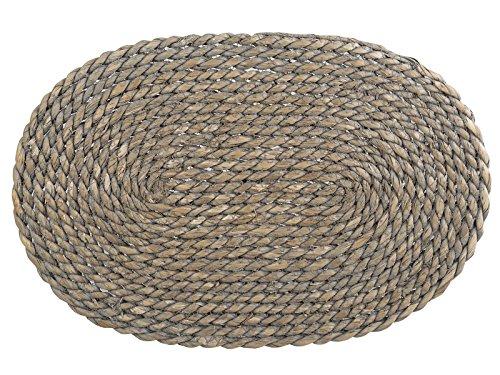Creative Tops Naturals GreyWash Oval dienen Matte, grau (Matte Ovale)