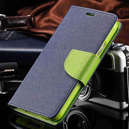 "Motorola Moto G MotoG 1st gen(Blue&Green) All Sides Protection""360 Degree"" Sleek Rubberised Matte Hard Flip Cover by YORA"