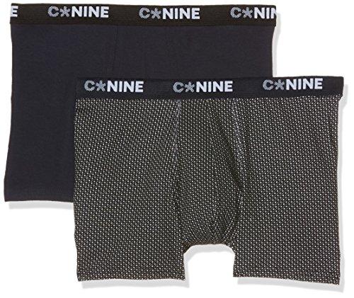 Celio Cnine2F Boxer, 2 Pezzi, Uomo Noir (Noir2)