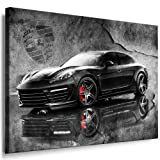 Porsche Panamera Stingray GTR Kunstdruck Leinwand Bild 100x70cm / Leinwandbild fertig auf Keilrahmen - Kunstdrucke, # 13 Leinwandbilder, Wandbilder, Poster, Gemälde, Pop Art Deko Kunst Bilder