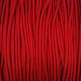 Wild Elk American 5504mm Seil zum Fallschirmspringen, Unisex, American 550 4 mm, Imperial Red