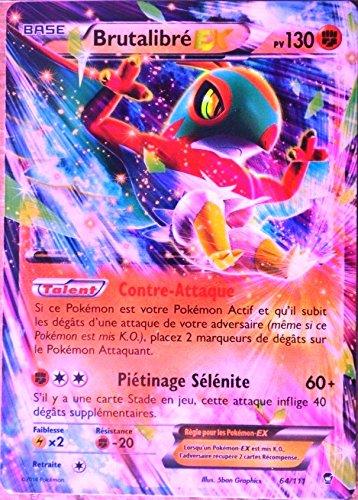 Karte Pokémon 64/111brutalibré-ex 130PV Ultra Rare XY Fäusten Wütend NEU FR